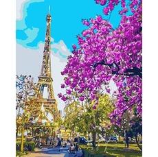 GX3777 Картина по Номерам В центре Парижа 40х50см RainbowArt