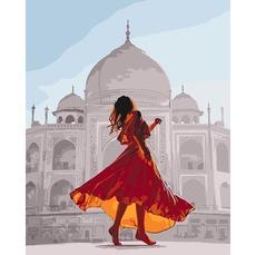 KH4639 Картина по номерам Жемчужина Индии Идейка