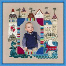 Набор для вышивания Риолис 1617 Панно для фотофии. Рыцарский замок