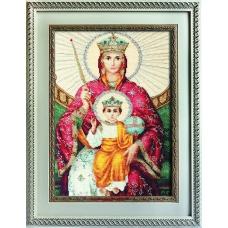 BR113 Икона Божьей Матери Державная. Luca-S. Набор для вышивания нитками