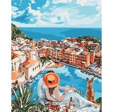 KH4647 Картина раскраска Итальянская романтика Идейка