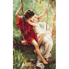 Набор для вышивки крестиком B415 Весна влюбленных
