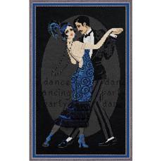 Набор для вышивания Риолис 1244 Танцевальное кафе