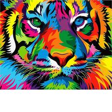 Радужный тигр VP987