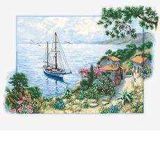 B2343 Морской пейзаж Набор для вышивания крестиком