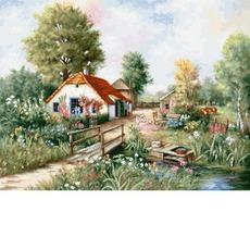 BU4011 Деревенский пейзаж