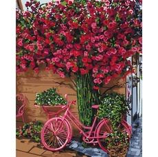 Картина раскраска Отдых в Бельгии Идейка KH2260 40 х 50см
