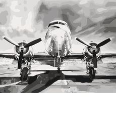 Картина раскраска Мечта о высоте Идейка KH2518 40 х 50см