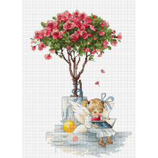 B1115 Розы. Luca-S. Набор для вышивания нитками