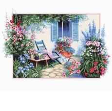 B2342 Цветочный сад Набор для вышивания крестиком