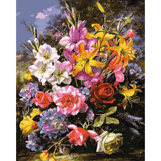 Букет роз и лилий MR-Q2149