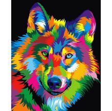 Радужный волк VP988