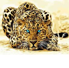 Картина раскраска Babylon Леопард VP994 40 х 50 см