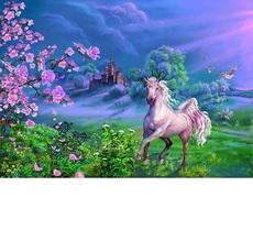 Картина по номерам Розовая лошадь худ. Цыганов, Виктор (VP170)