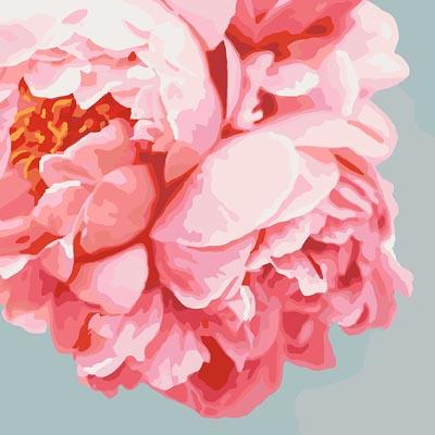 Картина раскраска Латте (Без коробки) BK-GX22222