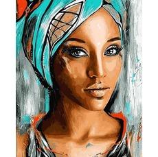 VP1177 Картина по цифрам Восточная красота DIY Babylon