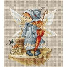 B1110 Фея. Luca-S. Набор для вышивания нитками
