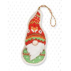 Набор для вышивки новогодней игрушки JK011
