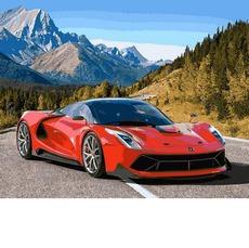 Авто в горах VP1028