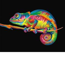 Радужный хамелеон худ Ваю Ромдони (VK005)