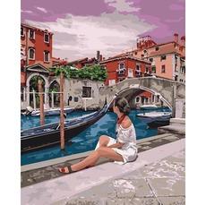 KH4658 Картина по номерам Удивительная Венеция Идейка