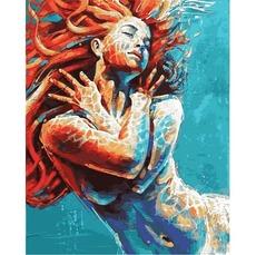 VP1184 Картина по номерам В воде DIY Babylon