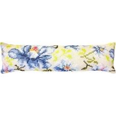 PB154 Цветы. Luca-S. Набор для вышивания нитками. Подушка