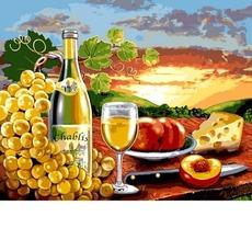 Белое вино с фруктами VP1110