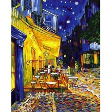 Ночная терраса кафе, худ. Ван Гог Винсент