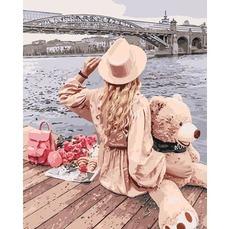 Картина раскраска Позволь себе мечтать Идейка KH4613 40х50см