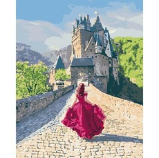 KH4622 Картина по номерам Тайна замка Идейка 40х50см