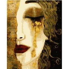 PN7506 Картина по номерам Золотая леди
