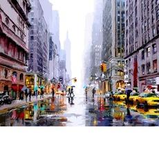 VP1200 Раскраска по цифрам Зима в Нью-Йорке DIY Babylon