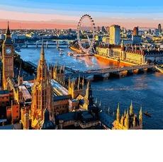 Лондон Вид на Темзу VP1089
