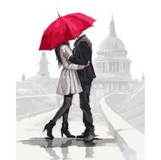 Влюбленные под зонтом VP1006