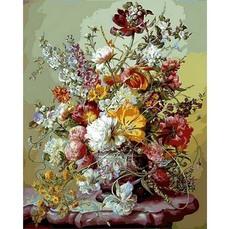 Тюльпаны и розовые пионы VP1043