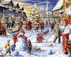 VP1206 Раскраска для взрослых Зимние каникулы DIY Babylon