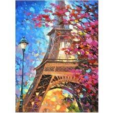 Алмазная мозаика Весна в Париже 30*40см