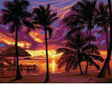 Закат в тропиках (VK044)
