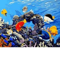 Картина по номерам Коралловый риф MR-Q2177 40 х 50 см Mariposa
