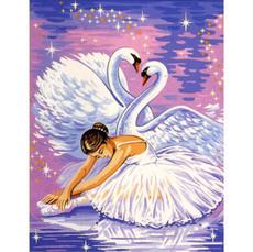 Лебеди и балерина (VK007)