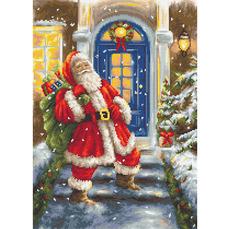 G563 Дед Мороз, Набор для вышивания - Гобелен