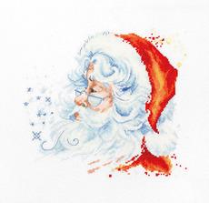 B1137 Дед Мороз Набор для вышивания крестиком