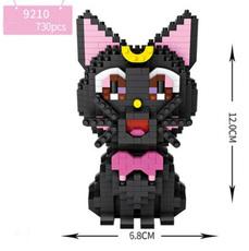 Конструктор Loz mini blocks 9210 Черная кошка