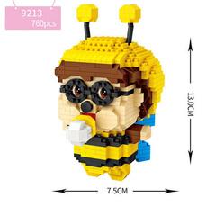 Конструктор Loz mini blocks 9213 Пчелка