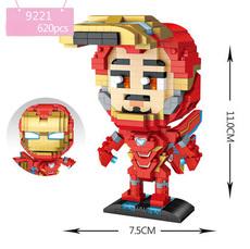Конструктор Loz mini blocks 9221 Железный человек