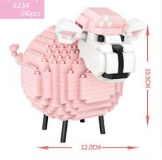 Конструктор Loz mini blocks 9234 Розовая овечка