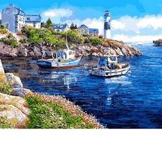 Картина по номерам Уютная бухта MR-Q2178 40 х 50 см Mariposa
