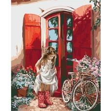KHО2324 Раскраска по номерам Маленькая принцесса Идейка