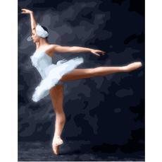 GX23013 Картина по Номерам Цветочная балерина 40х50см RainbowArt